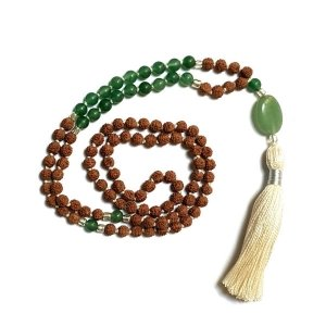 Prosperity mala with tassle