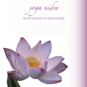 Yoga Nidra CD Cover - Meditation and Yoga Lifestyle CDs