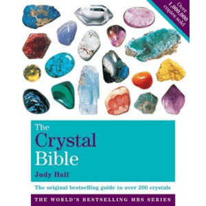 Yoga and Meditation Books Crystal Bible Book by Judy Hall