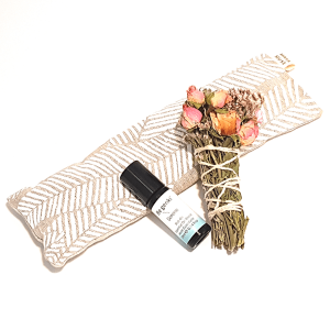Recharge Box Eye Pillow Essential Oil and Floral Smudge Stick