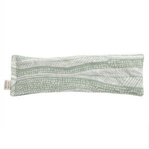 Eye Pillow- Green print Eucalyptus- long leaf pattern